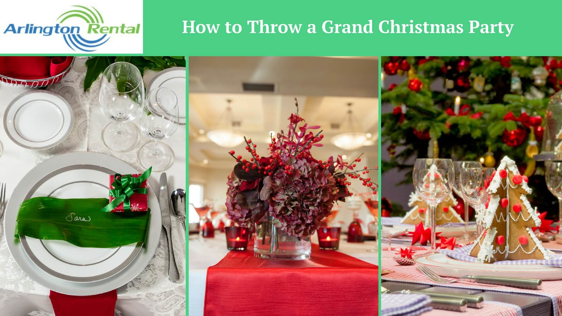 How to Throw a Grand Christmas Party